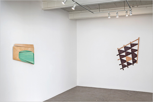 Installation view of a modicum of sensibility @ Diaz Contemporary, 2015